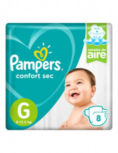 PAMPERS CONFORT SEC PAÑALES...