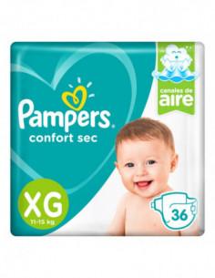 Pampers Confort Sec Pañales...