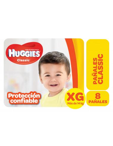 HUGGIES CLASSIC PAÑAL REGULAR  XG