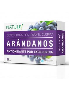 Natuliv Arándanos  60 capsulas