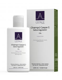 CEPAGE CHAMPU CASPA G x 145 ml