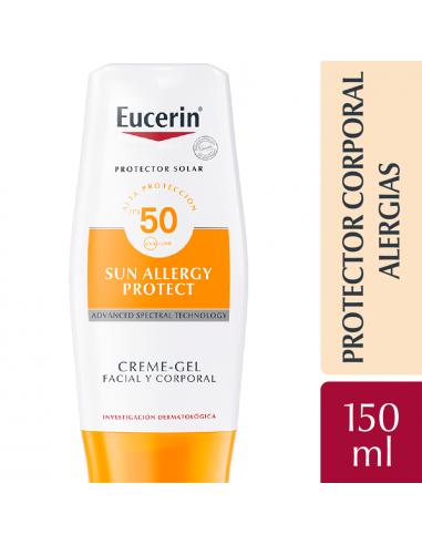 Eucerin Sun Body Crema Gel FPS 50 150 Ml