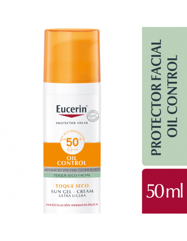 Eucerin Sun Fc Toque Seco Oil Control...