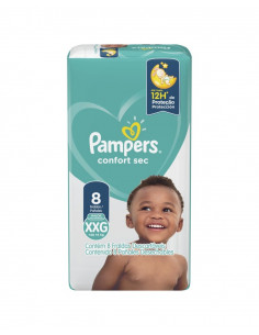 PAMPERS CONFORT SEC MAX...